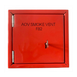 Fireman Switch Cover - Steel Red FB2 Anti-Tamper Enclosure