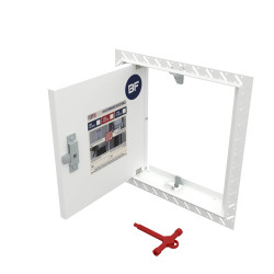 10 x Concealed Access Panels - Flipfix Fire Rated Plasterboard Panel - MULTIPACK DISCOUNT