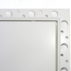 Metal Loft Hatch with Beaded Frame - Insulated