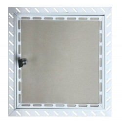 Tamper Proof Lock Plasterboard Access Panel 300x300mm non fire rated