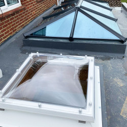 Coxdome Rooflight - Fixed Polycarbonate Skylight for Flat Roof