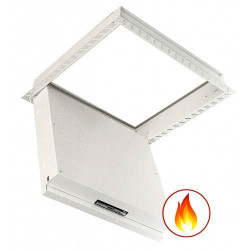 Fire Rated Loft Access Hatch - Insulated - Beaded Frame
