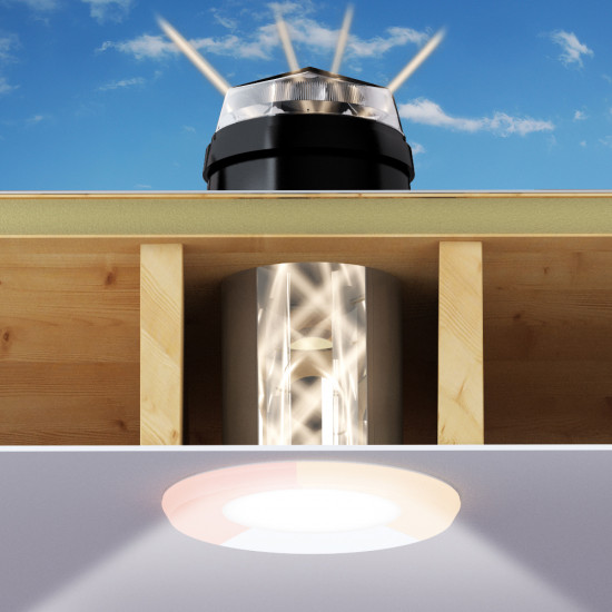 Sun Tunnel For Flat Roof - Monodraught Sunpipe®