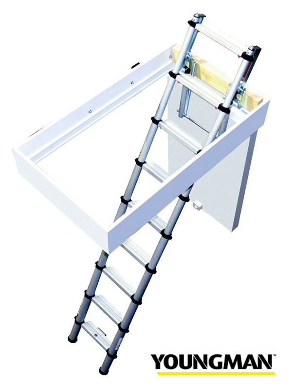 Loft Hatch with Ladder kit
