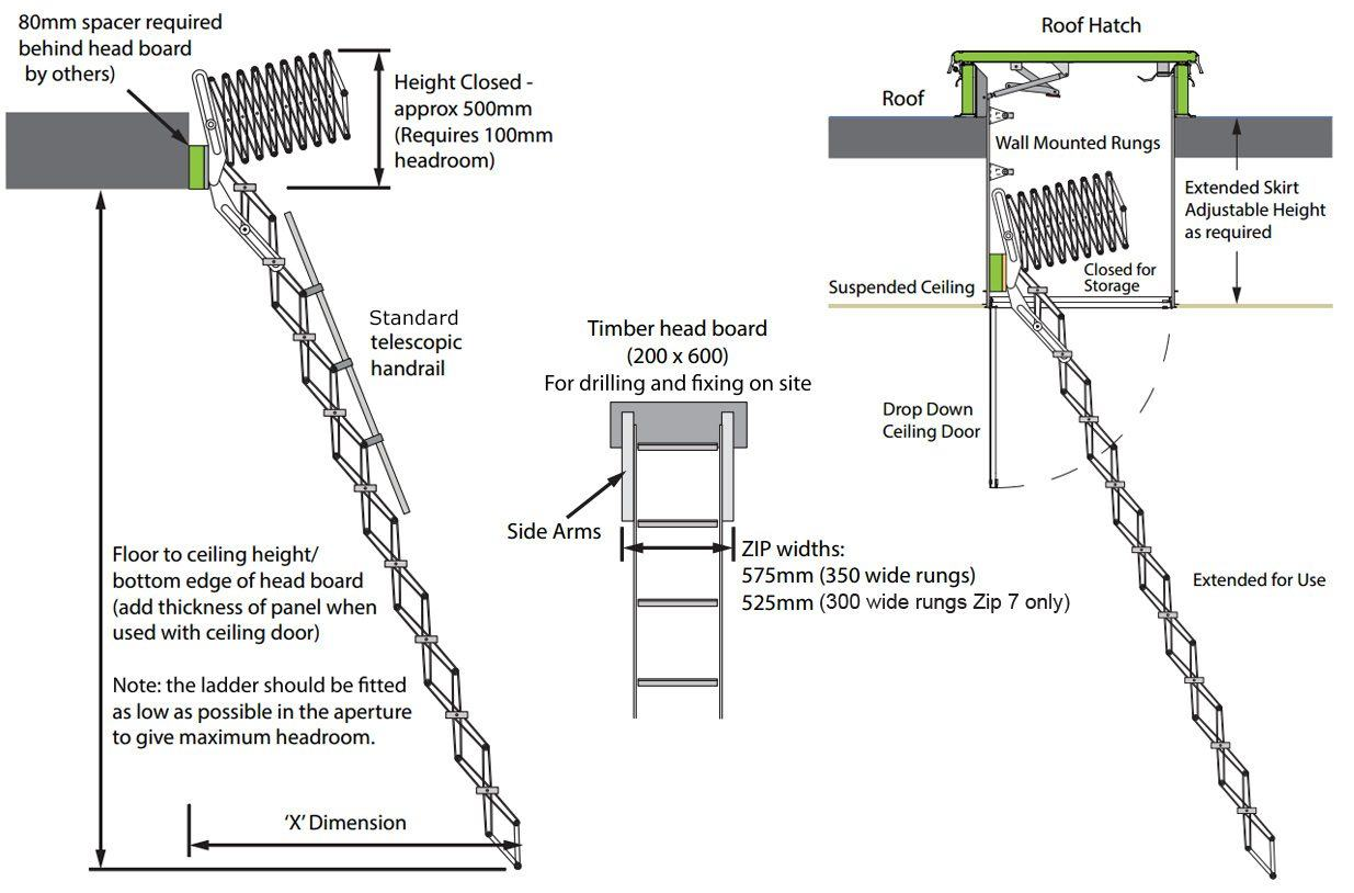 Zip Ladder
